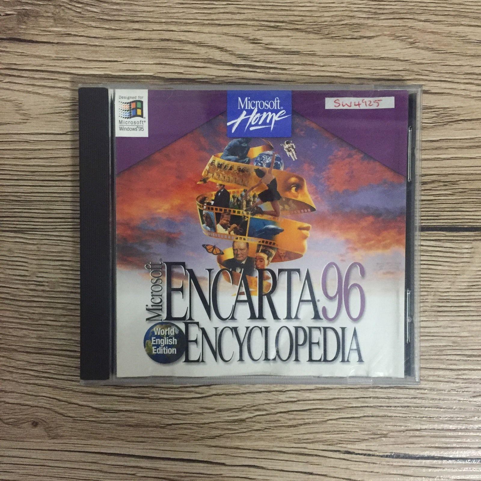 CDRom de Microsoft Encarta